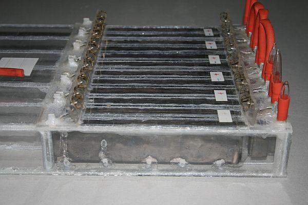 Wasserstoff Elektrolyse Brennstoffzelle Nickel-Schaum Nickel-Draht