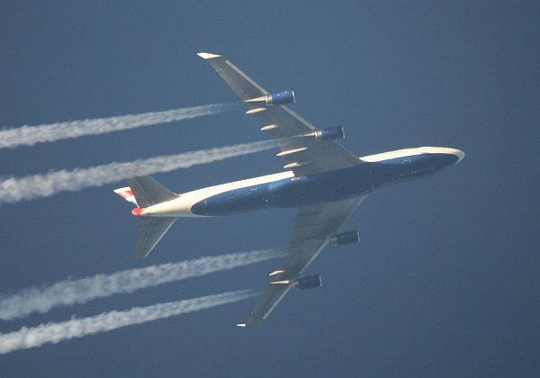British Airways Boeing 747 am 3.5.2008