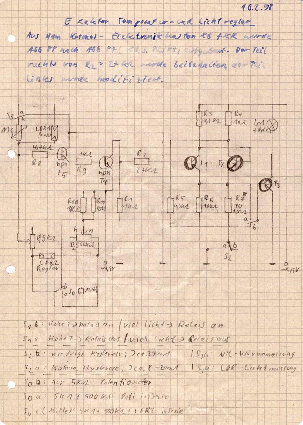 Mein Eigenbau-Magnetometer (Lichtschranke und Elektronik)