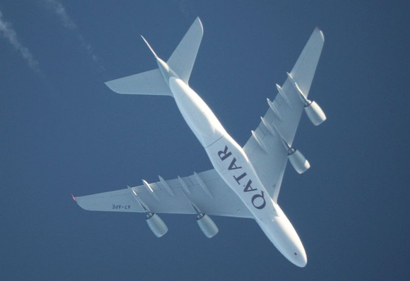 Flugzeuge Boeing 747 Airbus A380