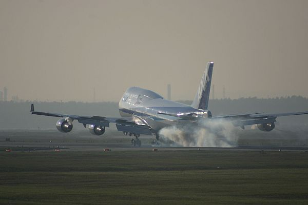 All Nippon Airways Jumbo Jet